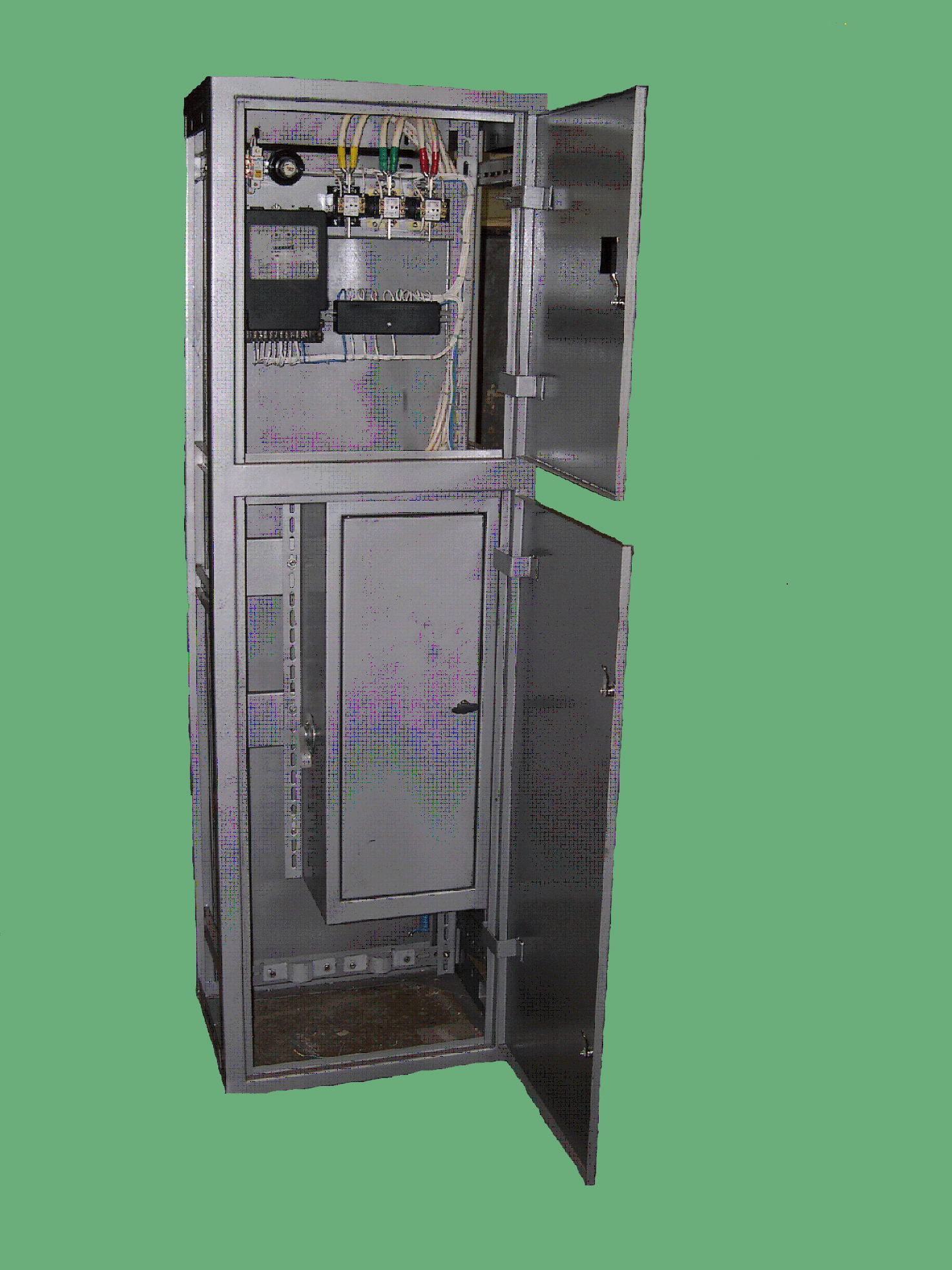 схема вру с автоматами для жилых домов